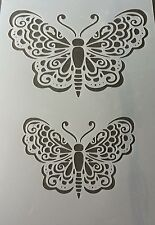 +++++Large Butterfly Mylar Reusable Stencil Airbrush Painting Art DIY Home Decor