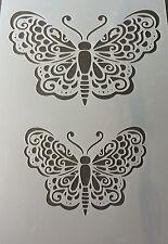 Grandi Butterfly MYLAR riutilizzabile Stencil AEROGRAFO PITTURA ARTE Arredamento Fai Da Te