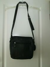 NEW!! WILSON'S LEATHER black leather shoulder bag.  NWT