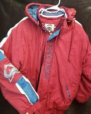 Colorado Avalanche Starter Jacket Size Large