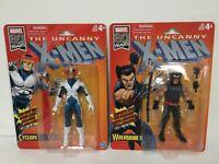 "Cyclops + WOLVERINE 6"" figure Marvel Legends Retro - Uncanny X-Men Classic 80th"
