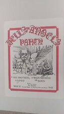 Janis Jopliin Hells Angels Autograpghed 1970 Rare First Printing Concert Poster
