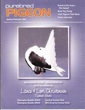 PUREBRED PIGEON ~ JAN-FEB 2006 ~ FANTAIL ISSUE ~ OUT-OF-PRINT