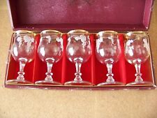 Rapiere Aderia Glass Gift Collection 5 pc wine stem glass set