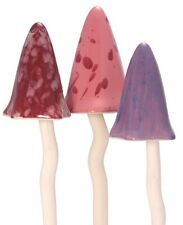 Ceramic Toadstools For The Garden Tinkling  Mushrooms Garden Ornaments PS1091