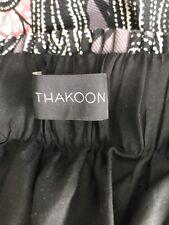 THAKOON STARRY NIGHTS Mini Skirt size 2 XS 100% Cotton Lining 100% Silk