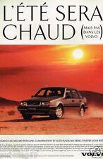 Publicité advertising 1993 Volvo Toscane 440 460 480