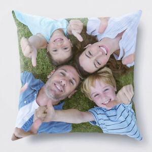 Personalised Cushion Cover Pillow Case Printed Photo Gift Custom Made Print