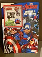 Marvel Avengers Coloring & Activity Book W/30 Stickers & A Large Mystery Sticker