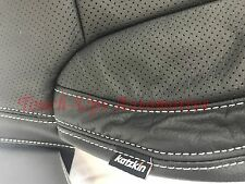 2016-2018 Chevrolet Silverado DOUBLE Cab KATZKIN Black Leather Seats WT Bench