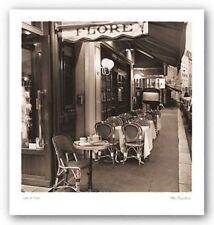 Cafe de Flore Alan Blaustein Art Print 16x16