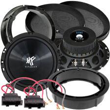 HIFONICS TS 6.2W Kickbass Woofer Lautsprecher Paar für VW Golf 6 2008-2013
