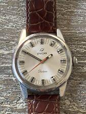Vintage Enicar Sherpa 600 Swiss Rare Wristwatch