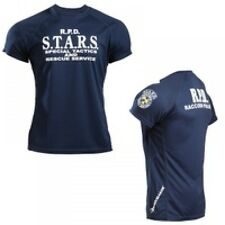 BIOHAZARD Resident Evil S.T.A.R.S. BM DRY T-shirt Navy Game Cosplay from Japan