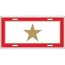 "KIA Service Gold Star Son in Service Military 6""x12"" Aluminum License Plate Tag"