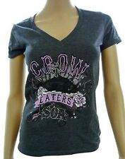 Sons Of Anarchy Crow Eaters Reaper V-Neck Dress Juniors Girls Samcro Soa Shirt L