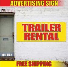 Rental Advertising Banner Vinyl Sign Flag Car Shop Body Finance Truck Trailer