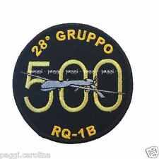 Patch A100 28° Gruppo RQ 1B Predator 500 ore di volo Toppa Patch senza velcro