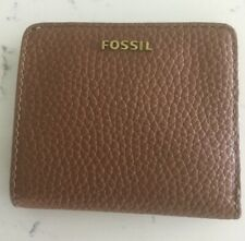 Fossil Women's Madison Small Leather Bifold Wallet - Medium Brown SWL1577210