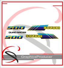 SUZUKI LT 500 R Decals Stickers Replica Full Kit Graphics Sticker 87-90 Model