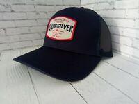 Quiksilver Days Trucker Snapback Hat CAP HAt Navy One Size Gorra