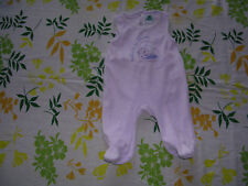 grenouillère mauve Taille 3Mois Marque Baby Looney tunes Fille occasion