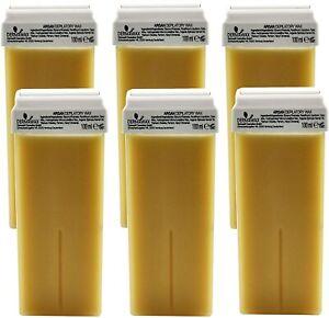 Dermawax Argan Roll-on Wax Wachspatronen Warmwachs zur Haarentfernung Enthaarung