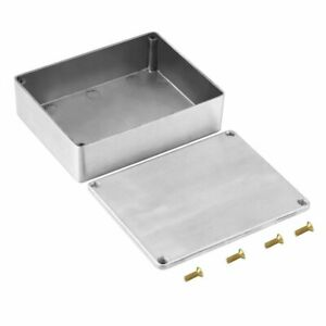 1590BB Style Effects Pedal Aluminum Stomp Box Enclosure for Guitar Instrument