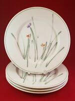 "STUDIO NOVA FINE CHINA SKETCH BOOK L 9175 JAPAN 4  DINNER PLATES 10 3/4"" ROUND."