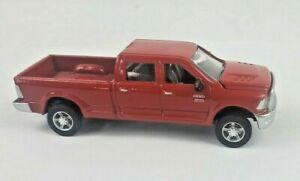 1/64 Ertl Red Dodge Ram 2500 Truck Gooseneck Hitch
