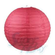 """5/10 Pack of 8"""" 10"""" 12"""" 14"""" 16""""  Paper Lantern Chinese Decoration Wedding Party"""