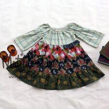Girls Matilda Jane Field Trip Celeste Peasant Dress size 8 HTF GUC