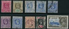 Seychelles Collection MM used 10 stamps