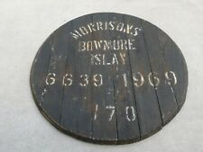 Bowmore 1969 cask end Fassdeckel Islay Scotch Whisky (no Port Ellen Karuizawa)