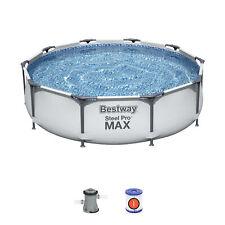 Bestway 10ft Steel Pro Frame Swimming Pool Set (4,678L) - New Generation