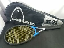 Head Titanium Blue Tennis Racket Ti.S1 Grip 4 1/4 with Case