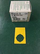 Eaton/Moeller RMQ-Titan Not-Aus Schild unbeschriftet M22-XZK