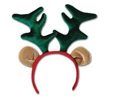 Reindeer Headband Ears Head Boppers Rudolph Xmas Christmas Fancy Dress