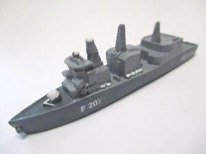 Navy Boat Frigate Bremen Ship 11 CM Polyresin Ship Collector