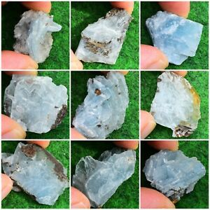 Blue Barite-Baryte Crystal Mineral Natural Gem Specimen [Pick Your Own] UK BUY✔
