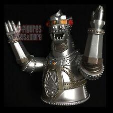 "Godzilla MECHAGODZILLA 8"" Vinyl Plastic COIN BANK Diamond Select Toys NEW!"