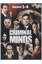 Criminal Minds: Seasons 1-4 Mini Mega Pack (DVD) Over 65 Hours