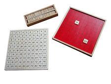 Montessori,Pythagorasbrett mit separater Kontrolltafel, MS39