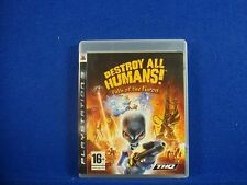 ps3 DESTROY ALL HUMANS Path Of The Furon REGION FREE PAL ENGLISH