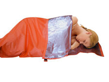 Thermal Warm Single Sleeping Bag Liner Camping Survival Emergency Shelter