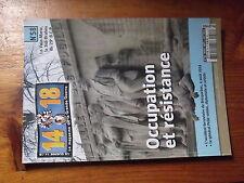 7µ? Revue 14/18 n°58 Occupation et resistance Bricquebec 4/08/1914 PELLE 29e BCP