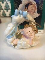 Encendido Cloud Nine Club Exclusivo Navidad Sello Recuerdo Ornamento Nuevo Caja