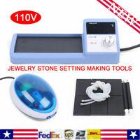 Jewelry Stone Setting Making Tools 110V Thermal Vacuum Micro Wax Setting Machine