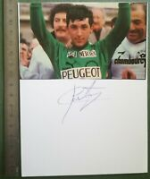 BB25 Photo dédicacée Autographe BE - Course cycliste francis castaing