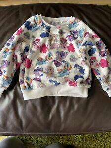 My Little Pony Super Soft Fluffy Long Sleeve Girls Top Age 4-5yrs From Next